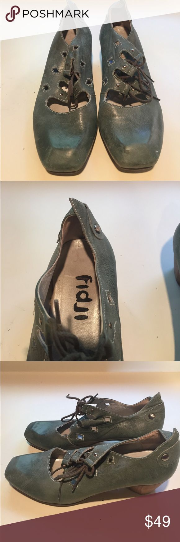 Fidji shoes Worn once, pristine condition, made in Portugal fidji Shoes Heels