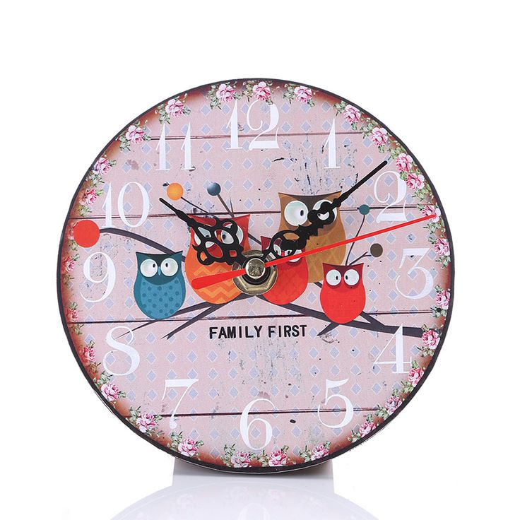 Wooden Wall Clock For Sale With Free Shipping  #designlovers #roomdecor