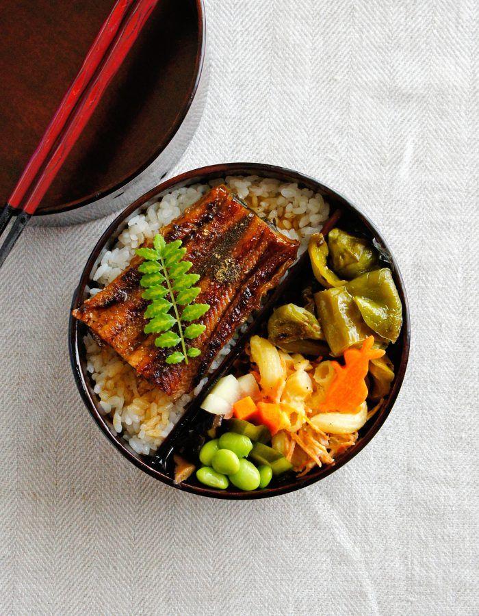 food presentation   Kabayaki Eel Bento 鰻の蒲焼き弁当