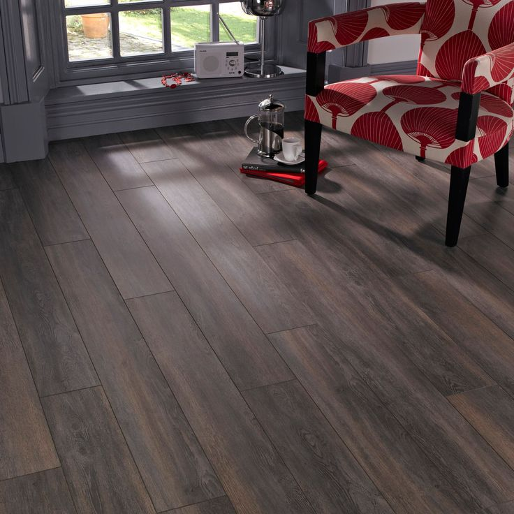 Colours Belcanto Dark Spruce Effect Laminate Flooring 2m² Pack | Departments | DIY at B&Q