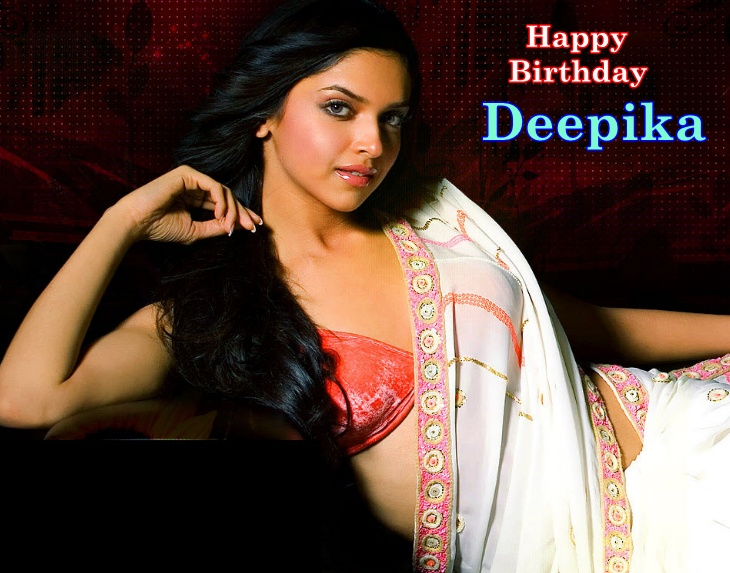 Wishing the gorgeous Deepika Padukone a very Happy Birthday! You can wish her by posting your comments below!    Which is your favorite film starring Deepika?  a. Om Shanti Om  b. Cocktail  c. Love Aaj Kal