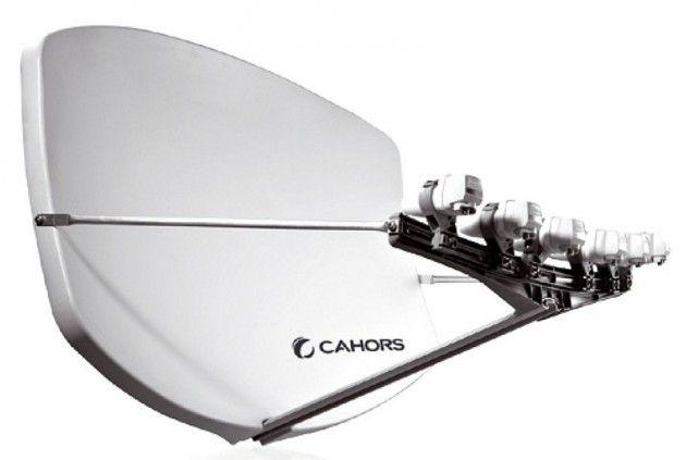 Superbol 91x70 parabol, Cahor BIG BISAT 4xMS PRINT | Satelittservice tilbyr bla. HDTV, DVD, hjemmekino, parabol, data, satelittutstyr