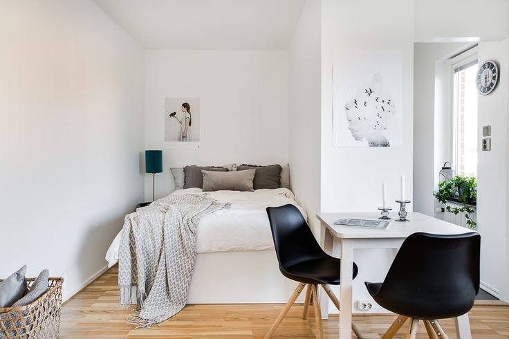 Mini apartment in Minimal and Nordic style
