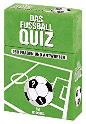 Dieses Fußball-Quiz mit 150 Fragen und Antworten wird auch den größten Fußball-Fan alles abfordern. Die Fußball-Nerds unter euch können also mit ihrem Detail- und Fachwissen angeben: Wer ist der be…