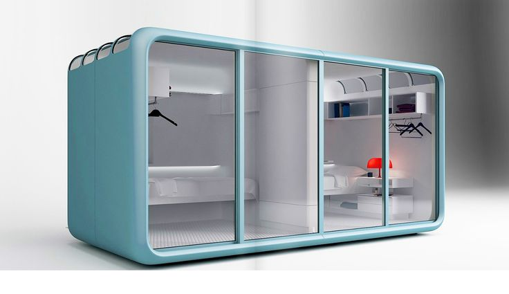 Tiny Prefab Sleeping Pod Doubles As A Guesthouse And