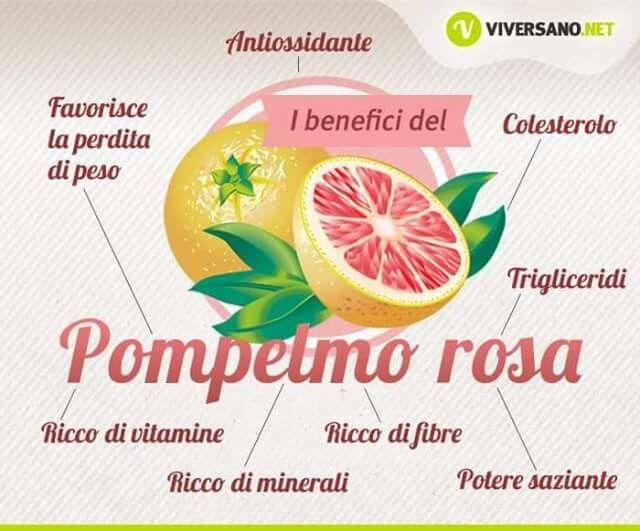 Proprietà del Pompelmo Rosa
