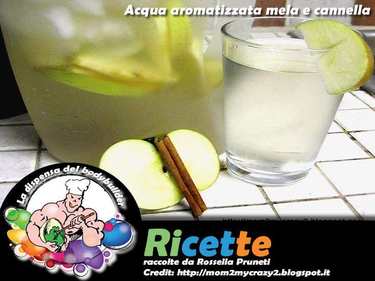Acqua aromatizzata mela e cannella