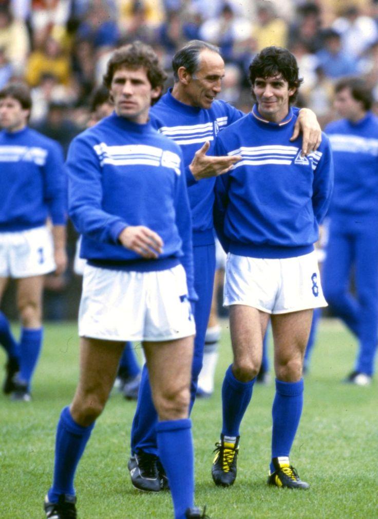 World Cup, 1982. #paolo rossi #franco baresi #Enzo Bearzot #azzurri