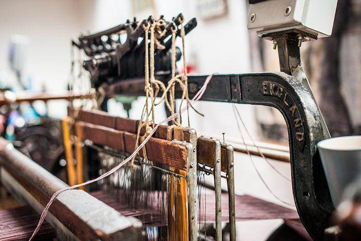 Hattersley Loom| McKernan Woollen Mills | Irish Scarves | Handmade in Ireland | Irish Design | Weaving & Knitting | Handmade Accessories | Womens & Mens scarves