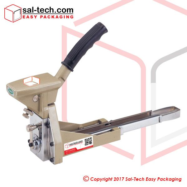 The STEP ST103 Manual Cardboard Stapler is designed to close boxes with simplicity. This is a handheld sealer appropriate for staple sizing from 35mm(W) x 15mm or 18mm(H), as required. It is used manually yet provides comfort for its good grip handle assuring a more productive operation. #ManualCardboardStapler #CardboardBoxesSealer #SalTechEasyPackaging  Inquire now: Call +45 7027 2220 Skype: easy.packaging Email: support@sal-tech.com