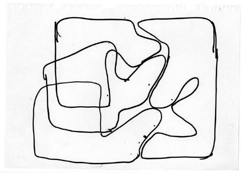 Olivier Gourvil, drawing, 2003