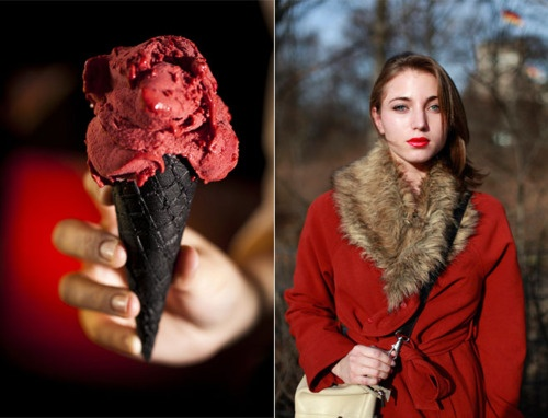 that ice cream cone!