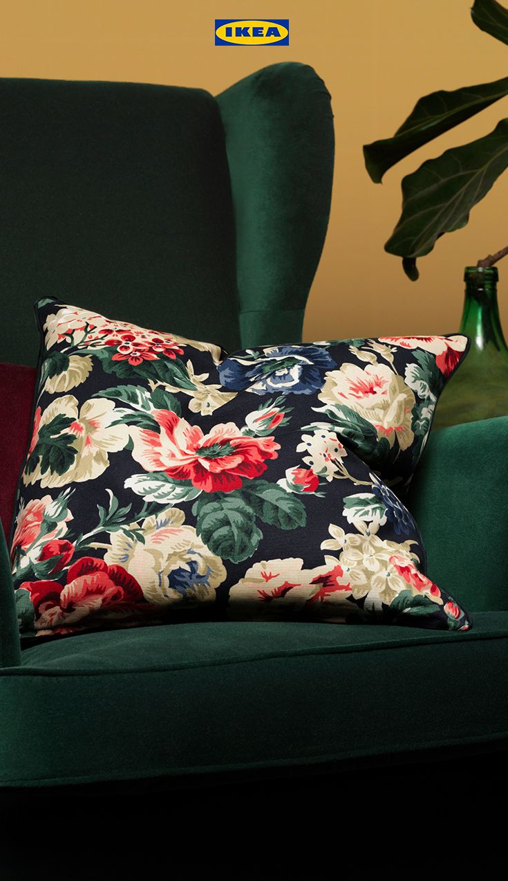 Leikny Cushion Cover Black Multicolour 50x50 Cm In 2020