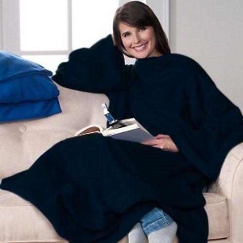 Giyilebilir Kollu Polar Battaniye - Siyah 29.90 TL (KDV dahil) :: battal sepet