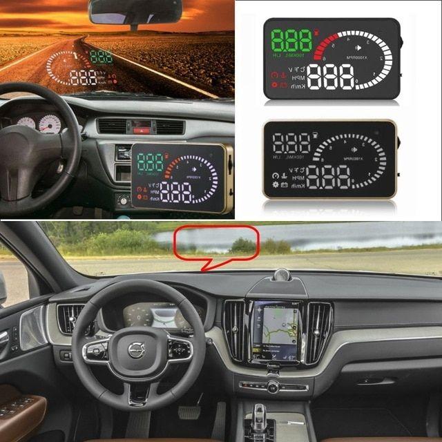 Liislee Car HUD Head Up Display For Volvo XC60 XC70 XC90 S40