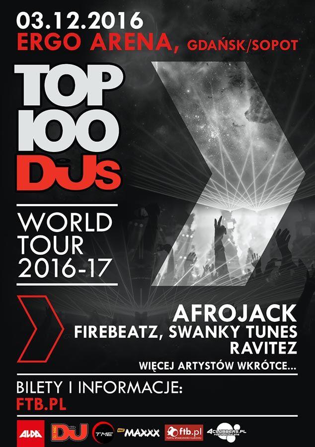 ALDA EVENTS oraz TME EVENTS zapraszają na pierwszą w Polsce edycję TOP 100 DJ's !