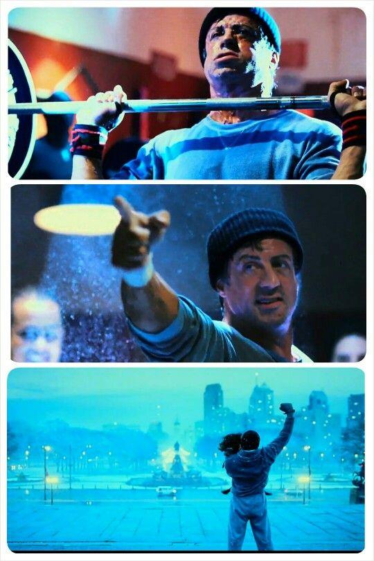 Rocky Balboa 2006. Training montage. Sylvester Stallone.