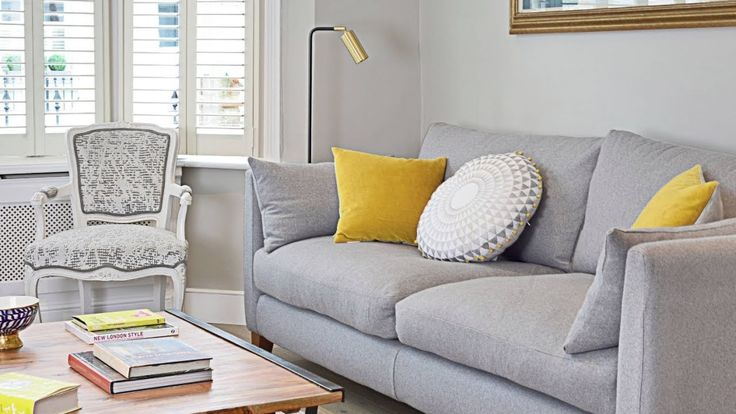 24 grey and yellow living room ideas throughout yellow