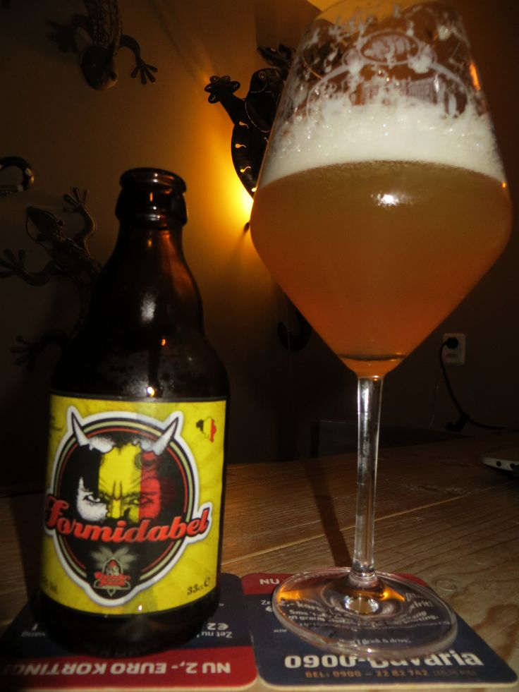 Broeder Jacob Formidabel 5,5% ,hazy,fuzzy yellow beer,too much like a witbeer for me,not for me,,,,,next.......