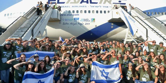 Gozal pointed out that once someone serves in the IDF, they frequently commit to making aliyah. Their family often follows.