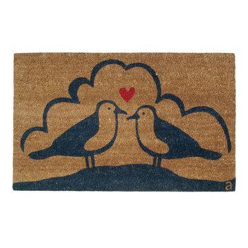 Seagull love doormat