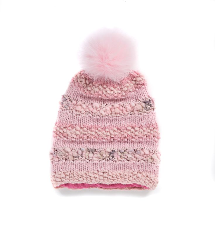 KNIT BEANIE CAP FOR WOMEN in Powder Pink - The GŌBLE Women Knit Beanie Cap is a luxurious soft blend of merino wool, alpaca, silk and mohair HAND KNIT IN CANADA  GOBLE.CA