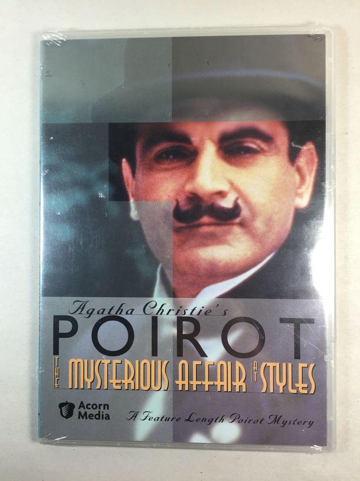 Agatha Christie Poirot DVD The Mysterious Affair At Styles Acorn Media Feature