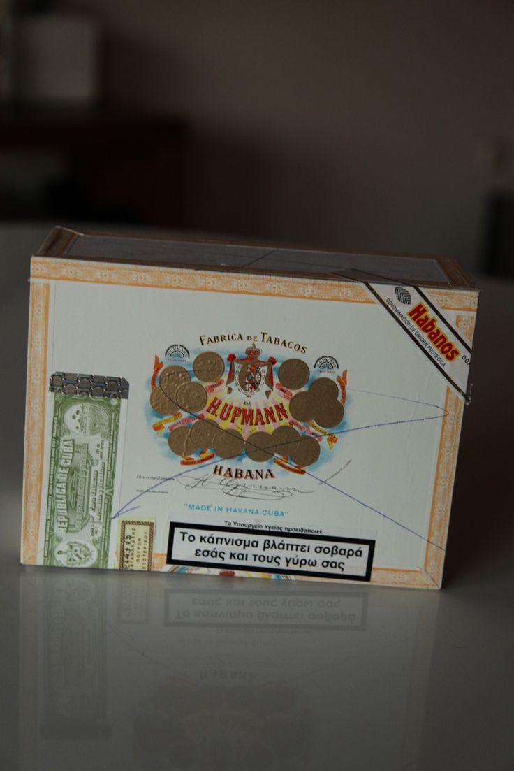 Collectible Wooden Cigar Box. Fabrica De Tabacos De H ...