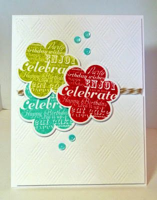 Cards-by-the-Sea: A Birthday Card and Snow in my Craft Room