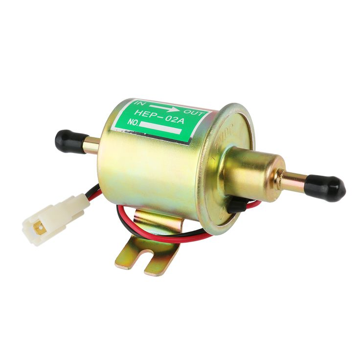 Find More ATV Parts & Accessories Information about 12V Car Heavy Duty Metal Solid Petrol Electric Fuel Pump HEP 02A Low Pressure Pump for Carburetor, Motorcycle , ATV (Silver),High Quality silver pump heels,China pump screw Suppliers, Cheap silver from Top Seller Number One on Aliexpress.com