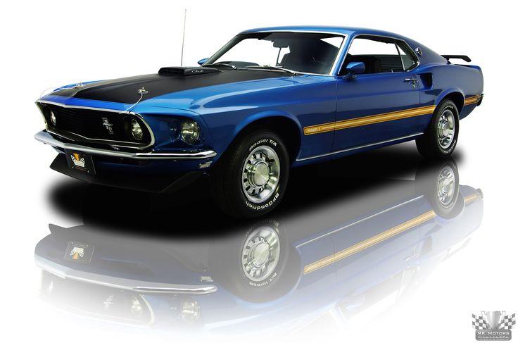 1969 Ford Mustang Mach 1 428 Cobra Jet 4 Speed