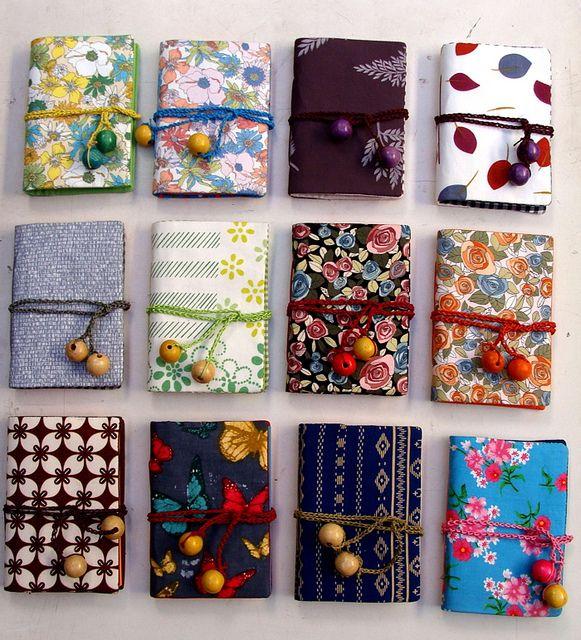 Simple Binding Notebook In May By Vitarlenology, Via Flickr