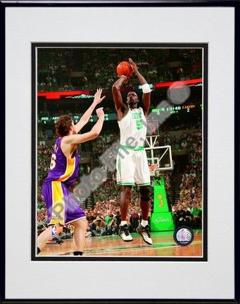 """""""Kevin Garnett, Game 2 of the 2008 NBA Finals; Action #4"""""""" Double Matted 8â€� x 10â€� Photograph in… #Sport #Football #Rugby #IceHockey"""