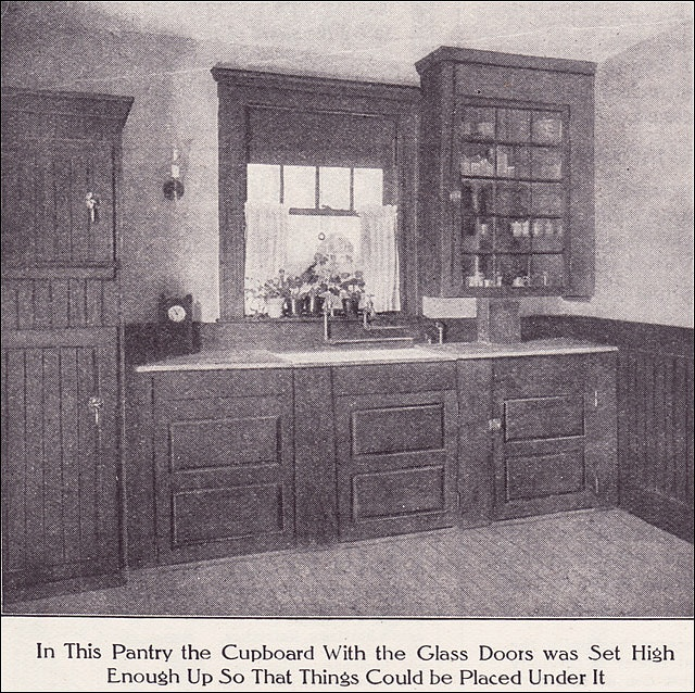 Vintage Kitchen Pantry: 1911 Kitchen Pantry By American Vintage Home, Via Flickr