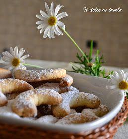 Il dolce in tavola: Biscottini alle mandorle