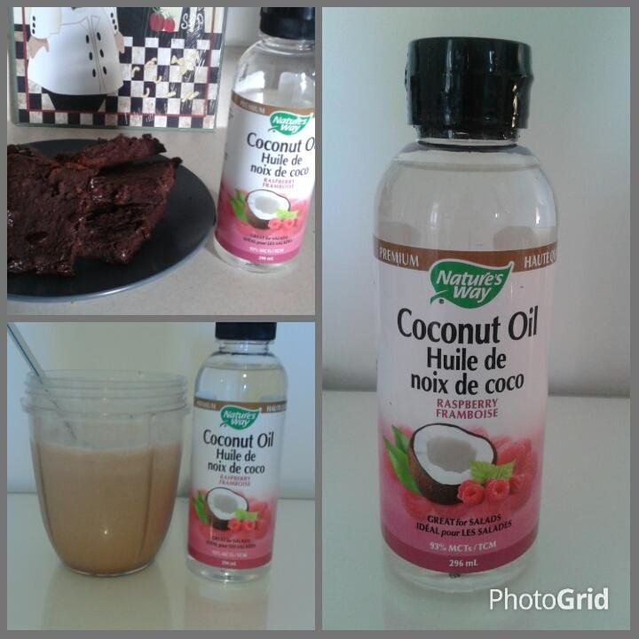 @SocialNature  @natureswaycan this liquid #coconutoil is delish in my smoothies + black bean brownies