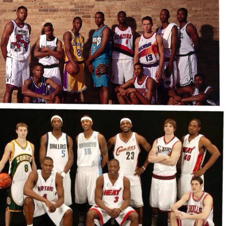1996 Vs 2003 NBA Draft.