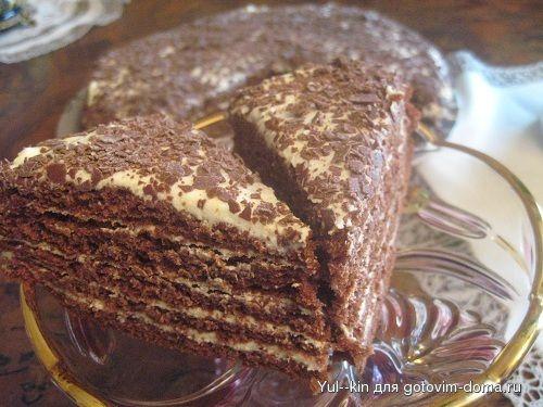 """медовый торт """"Капучино"""" • Медовики"""
