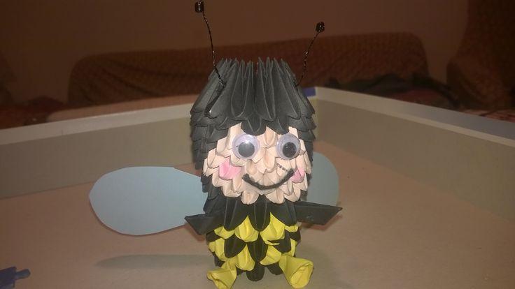 3d origami ape