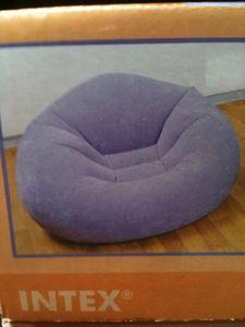 Intex Lt Purple (Lavender) Inflatable Beanless Bag Chair