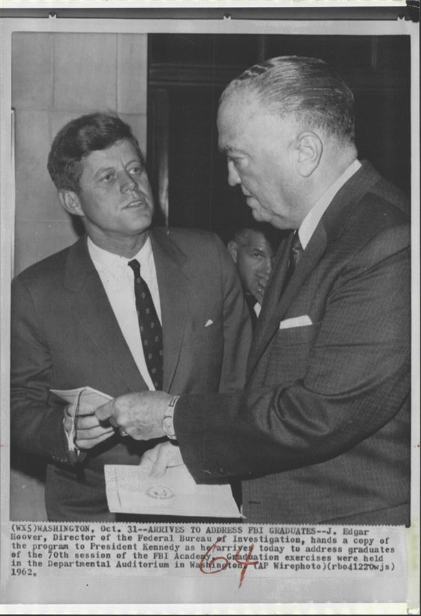an analysis of the american history during the presidency of j edgar hoover A history lesson for president trump on fbi director j edgar hoover was started and defended putatively as an anti-communism operation during the.