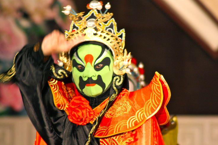 masque chinois Afficher l'image d'origine