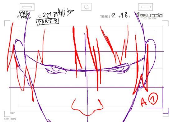 animated bahi_jd genga hair ping_pong web