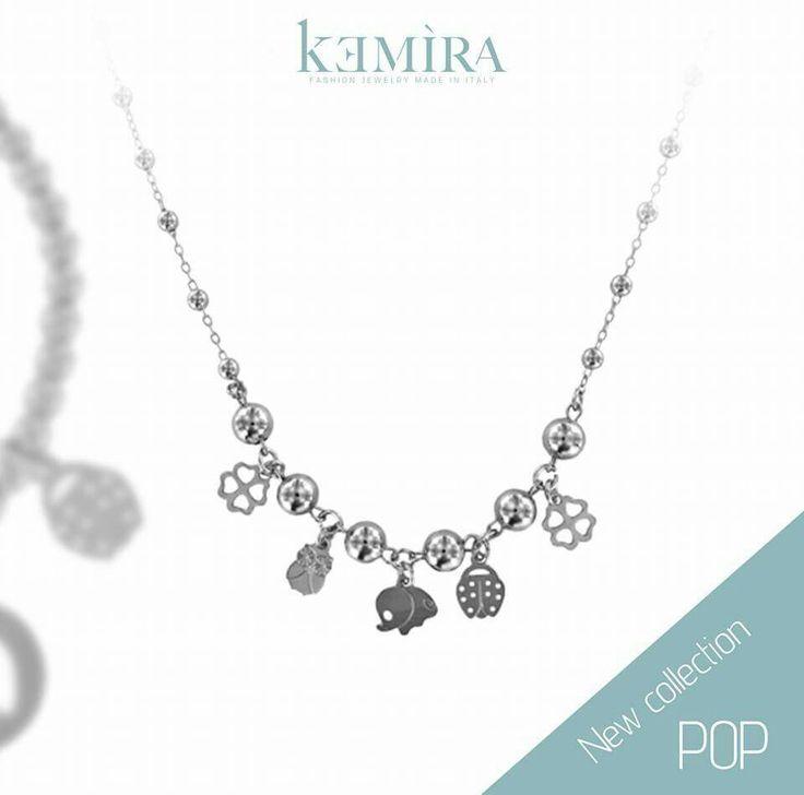 """""""Pop collection""""...la nuova collezione di kemira gioielli. Sul nostro scopri tutte le novità 2016. #kemira #gioielli #bijoux #collana #pop #madeinitaly"""