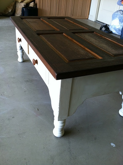 How to re-paint old coffee table