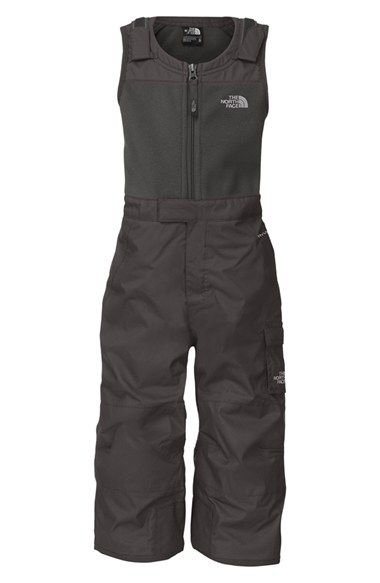 The North Face 'Snowdrift' Waterproof Insulated Bib Overalls (Toddler Boys & Little Boys)