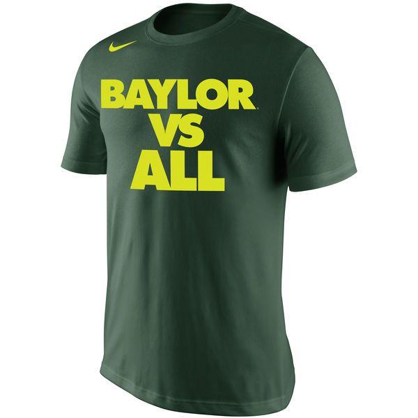 Baylor Bears Nike Selection Sunday All T-Shirt - Green - $19.99