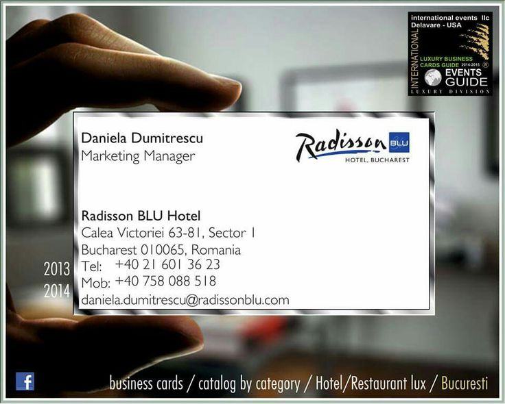 LUXURY HOTEL BUCHAREST - ROMANIA