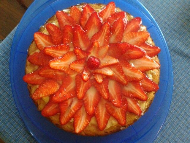 Strawberry's cake