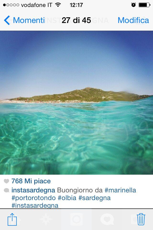 See through!  Sardinia #summer14